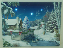 lastest light up modern canvas wall art paintings with chritmas for home decor sale wholesale factory in china