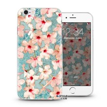 tpu case for iPhone 6 plus watercolour pattern phone covers