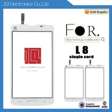Mobile Phone Accessories Touch Panel Screen Digitizer For LG L8 Black&White Single Card Version