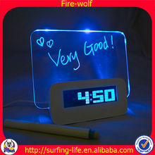 Super Hot Voice Controlled Led Wall Clock/ Led Clock/LEd Digital Clock