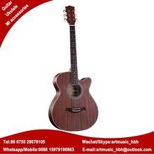 Sapele guitarra acústica rosette