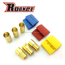 RC car motor Accessories for sensorless rc car motor 4.0mm golden connector(3 pairs) heat-shrinkable tubing