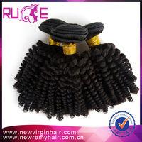 5A malaysian hair Kinky Curly Hair Extensions 10inch afro nubian twist Kinky Curl malaysian hair
