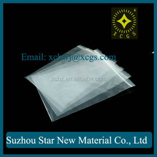 Transparent PE Pure White Universal Plastic Bags with Zipper