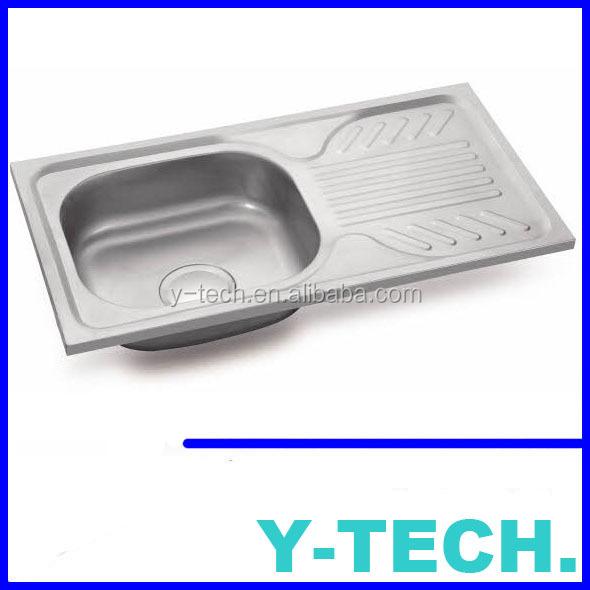 Ecuador fregadero de la cocina de acero inoxidable YK7540AL