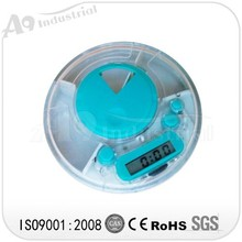 2015 HS09C guangdong high quality plastic pill reminder with CE ROHS