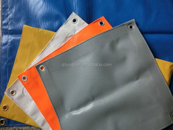 Heavy duty pvc coated tarpaulin fabric uv protection