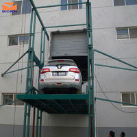 warehouse use hydraulic cargo lift/hydraulic car elevator