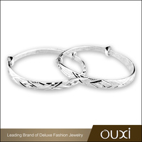 OUXI fashion jewelry 925 sterling silver bangle sex store