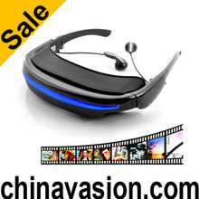 Virtual Private Theater Glasses with 52 Inch Wide Screen Display