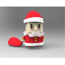 Father Christmas shaped usb flash drive, animal shape usb flash drive customized