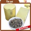Taiwan high quality tea can package / small metal tea bags tin can box
