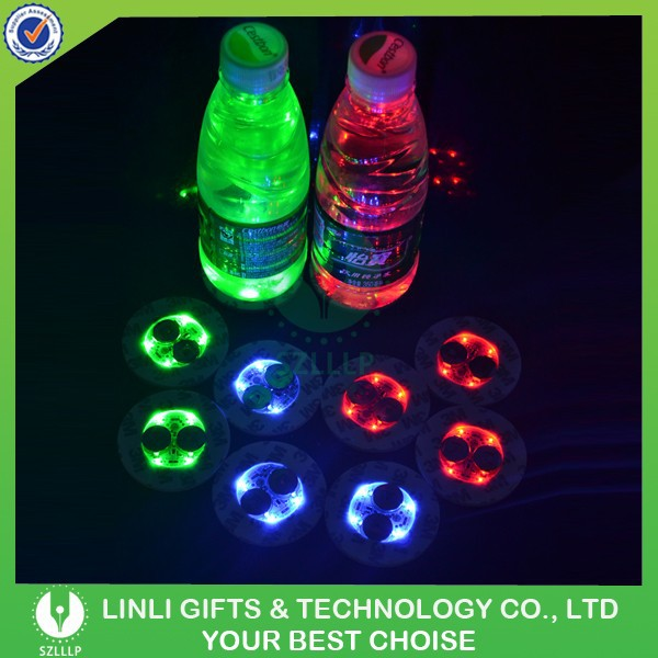 For bottle light up beer bottle sticker led liquor bottle sticker