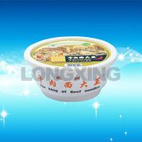 1200ml Noodle Plastic Bowl