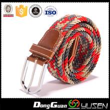 Factory Sale Multiple Colors Red Grey Beige PP Elastic Belt