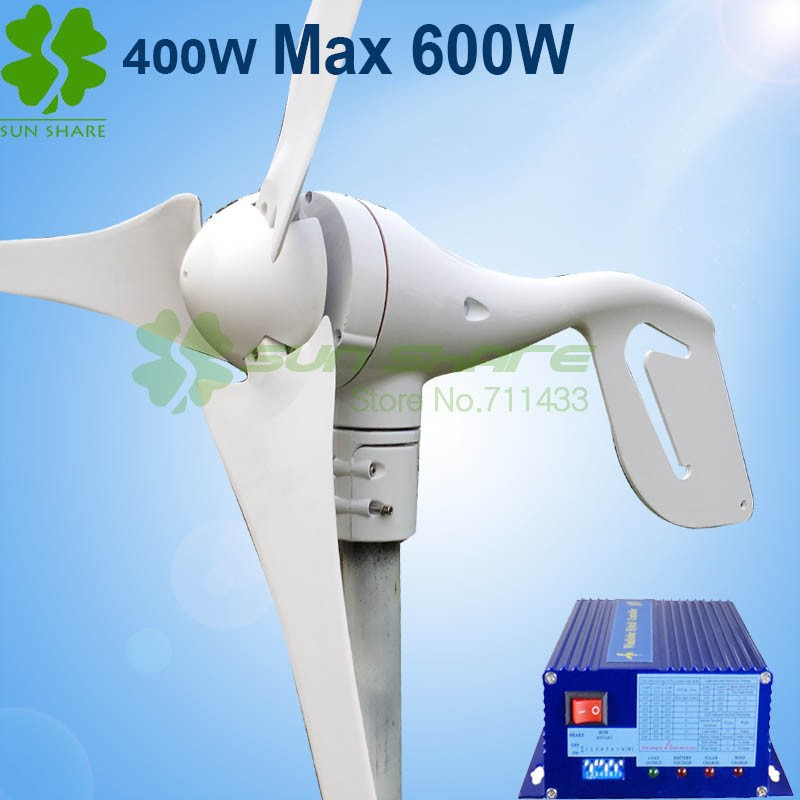 turbina eólica + controlador Max 600W com três blades.jpg2