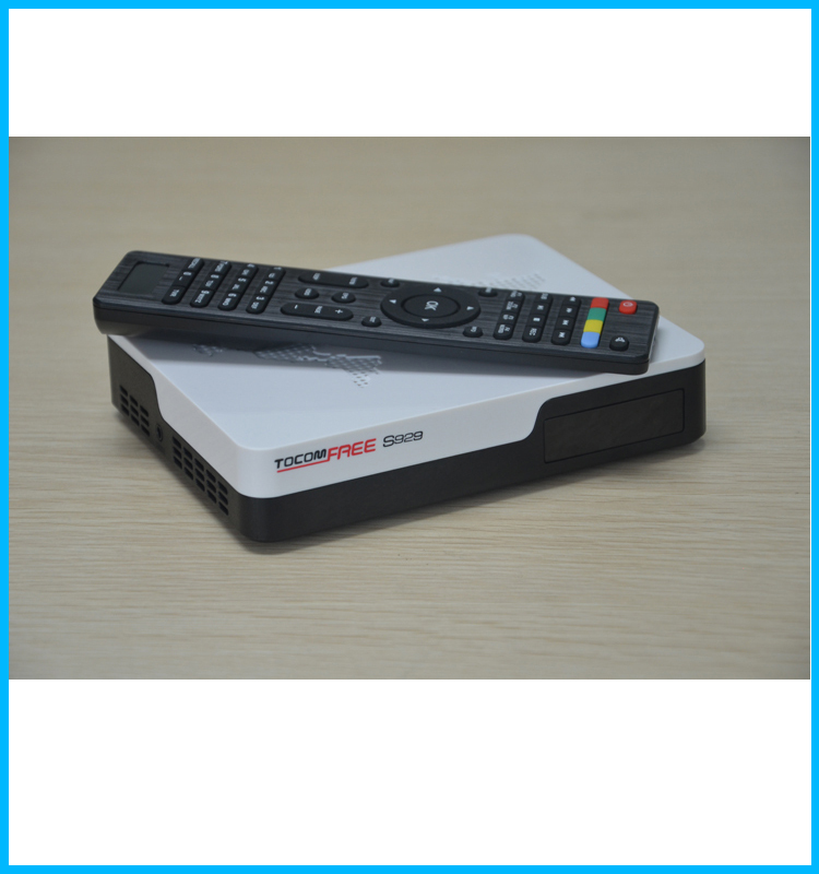 Newest receiver tocomfree s929 decodificadores satelitales hd with iks sks iptv for South America