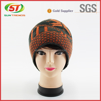 Fashion Crocheted Knitted Winter Hat Scarf Glove Set For women