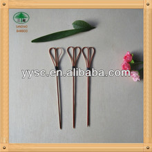 Food grade bamboo knotted skewers wholesale