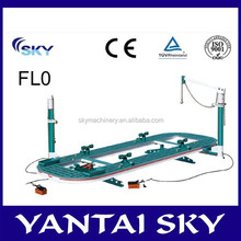 CE approved auto body collision repair equipment, auto body frame, car denting equipment