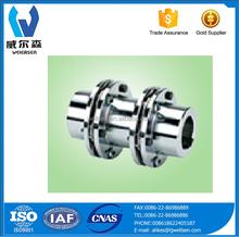 High Quality SJM Double Key Elastic Diaphragm Shaft Coupling