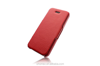 Factory Supply Genuine Leather Custom Logo Printing Flip Mobile Phone Case For Iphone 6s