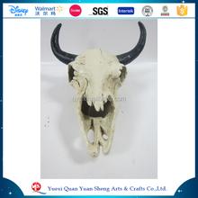 Polyresin Animal cabeza del cráneo, resina cabeza del cráneo de Halloween