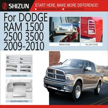Car Accessories Made In China Guangzhou Chrome Car Parts Auto Accessories For Dodge Ram 1500 2500 3500 2009-2010