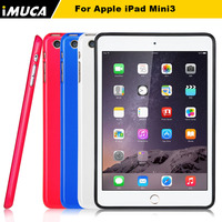 IMUCA glitter soft rubber soft TPU back case for iPad mini 3