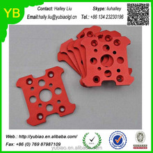 Custom CNC aluminum board motor mount fixed board plate for hexacopter rc toys aircraft frame