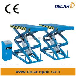 Auto maintenance used car lifting equipment with inground design