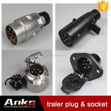 European australian auto electric sockets plugs,aluminum travel trailer manufacturers