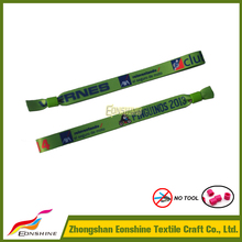 Popular event and party supplies help you produce personalized club members cheap customized wristbands