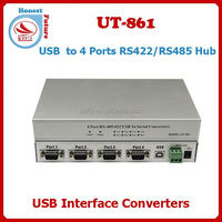 UT-861 USB2.0 to 4 Ports RS485/422 Hub Converter Driver Usb To Serial