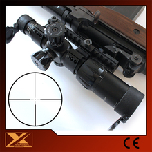 1-6X24 Tactical first focal plane with red and green dot hunting riflescope