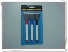 3PC dry erase markers w/eraser