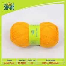 classic yarn producer OEKO TEX quality whole selling 3/8nm acrylic yarn-knitting yarn in skeins