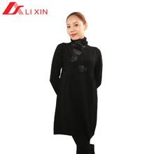 2014 patrón que hace punto vestido de suéter para las mujeres