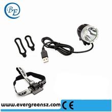 100-240V Waterproof Mountain Bike Lights or Headlamp USB Bike Lamp