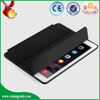 For iPad air 2 case , PU leather case for ipad air 2 with kickstand function , flip leather case for iPad air 2