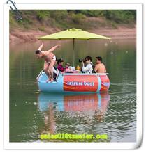 Original manufacture electric engine outboard boat