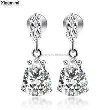 Zircon jewelry pendant stainless steel drop earrings factory direct