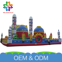 Interesting Funny Playground For Children Children Play Customized Giant Inflatable Bouncer/Slide