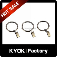 KYOK double curtain rods wholesale & curtain rod accessories factory,chinese curtain eyelet