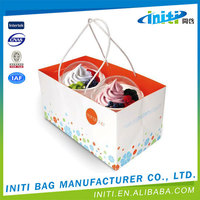 Promotional portable eco-friendly custom printed ice popsicle packaging bags