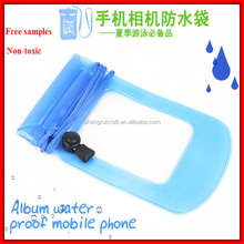 Safer Mobilephone Clear PVC Waterproof Bag