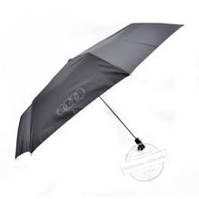 Classic business gift aluminium three folding umbrella