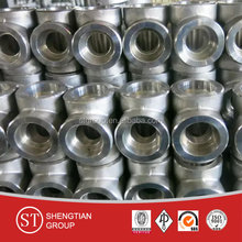 3 way elbow pipe fittings male elbow A420 WPL6
