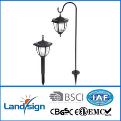 Hot Sales Products Yards & Beyond Dual Use Coach Style Solar Lights - 2 Pack