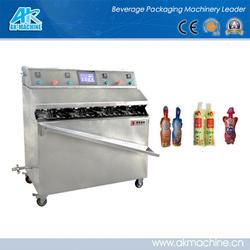 HOT SALE Semi-auto plastic/stick bags filling/sealing machine